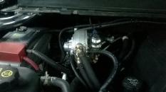 ГБО Alex Optima Expert, два редуктор EMER Palladio, форсунки Barracuda, баллон 94 литра тор.